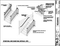 Window Rail and Handrail Detail